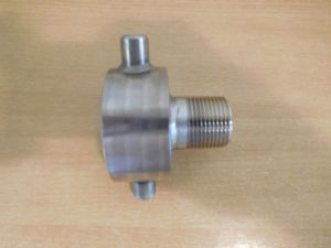 60x6mm Stainless IBC Adaptor to 1 inch BSP Male